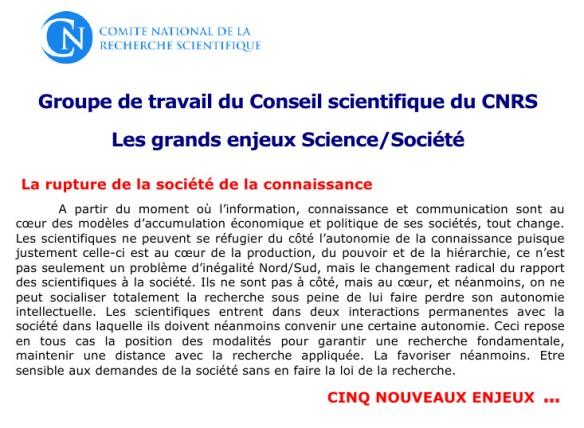 CNRSLesEnjeuxScience