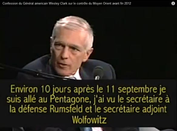 Wesley Clark 2 mars 2007 interview