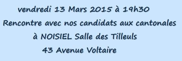 cantonales champs rencontre 13 mars 2015