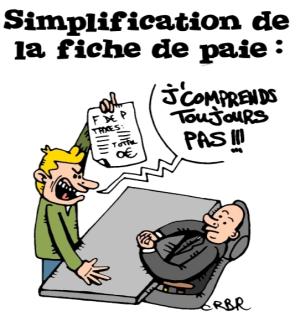 choc de simplification la feuille de paye