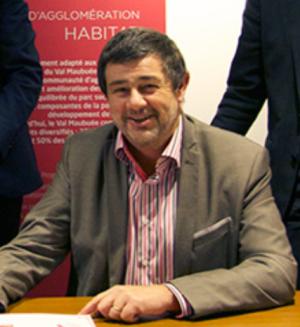 Michel Bouglouan adjoint au Maire de Champs sur Marne  vice-président PCF de la Nouvelle Communauté d'Agglomération de Paris Vallée de la Marne