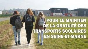 transports scolaire école gratuité