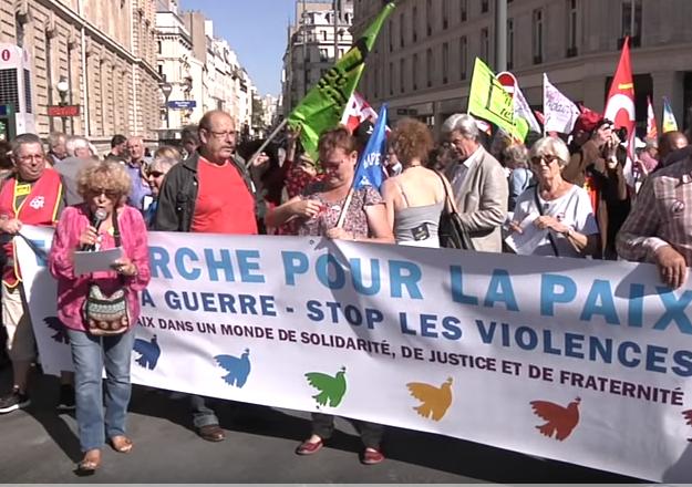 Marche pour la paix 24 septembre 2016