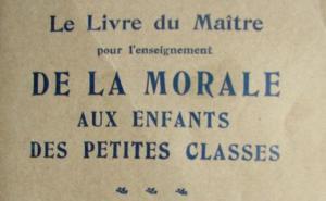éducation nationale morale enseignement moral débats