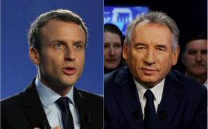 macron bayrou présidentielle 2017