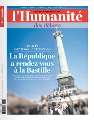 Humanité Quotidienne 18 mars manif   Tous les vendredi c'est l'Humanité Quotidienne des débats