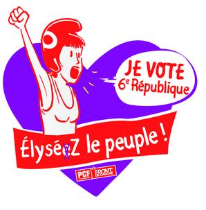 élections présidentielles législatives manif 6ième république
