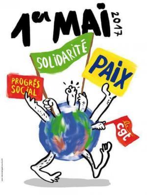 manif inter-syndicale 2017 1er mai