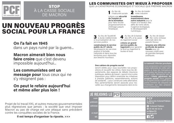 projet communiste loi travail xxl social