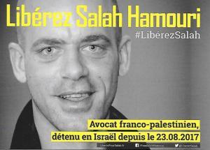 Salah Hamouri palestine palestinien