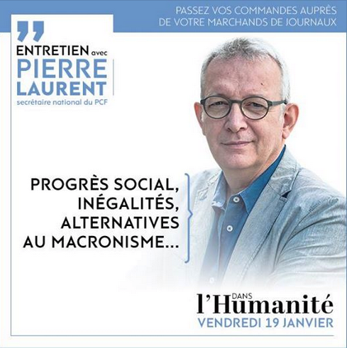 pcf pierre laurent rentrée 2018 alternative politique