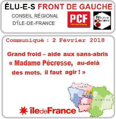 Pécresse Ile De France
