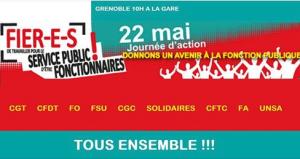 service public manif du 25 mai