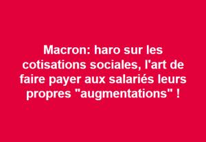 annonce Macron
