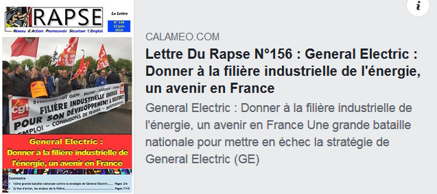 General Electric industrie
