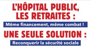 l'hôpital  retraites sécu protection sociale