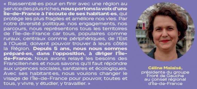 régionales ile de france 2021